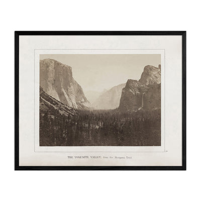 Yosemite Valley, Yosemite 1868