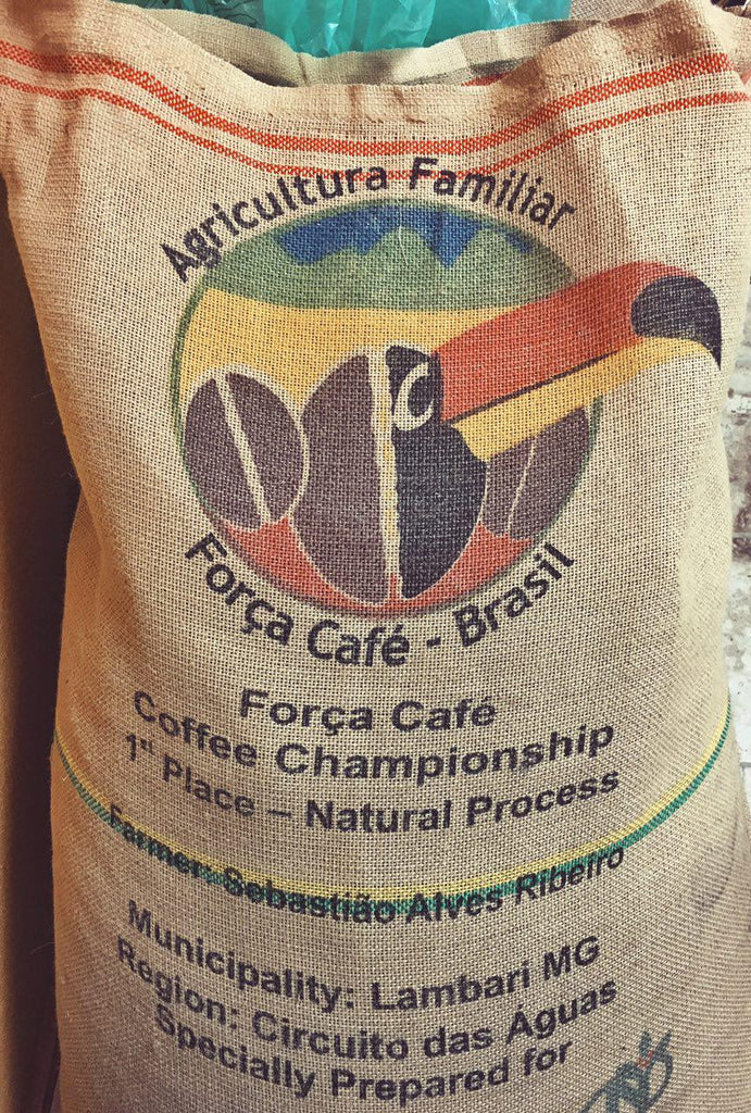 Brazil Força Cafe - 1st Place in the Natural Division
