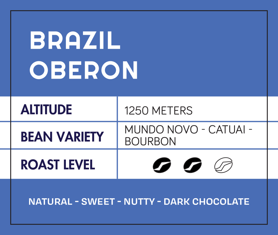 Brazil Natural Oberon