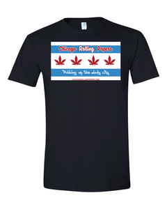 Chicago Rolling Papers 1/1/2020 Legilizaton Shirt - Only 1K made