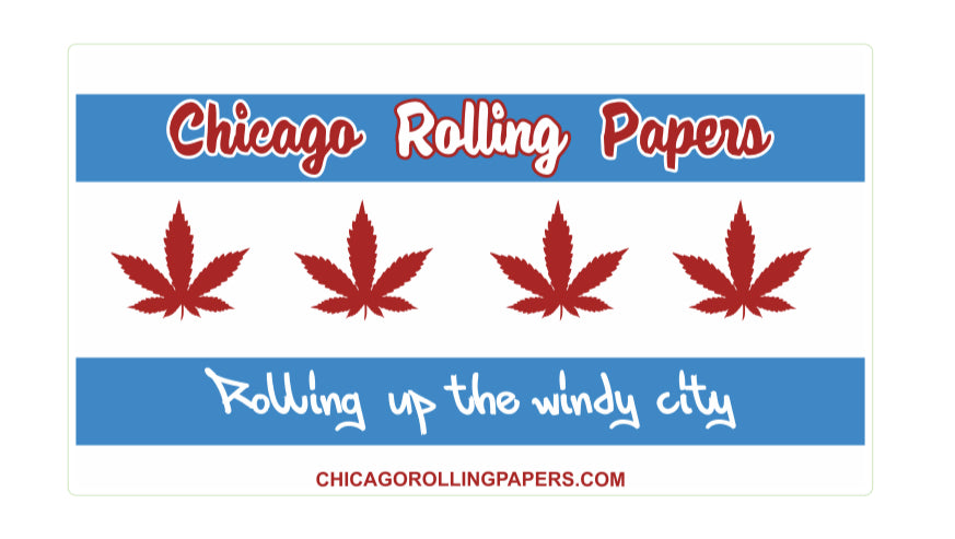 Chicago Rolling Papers Flag
