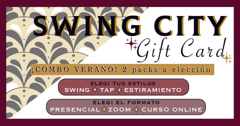 Gift Card - ¡2 Packs de clases!  Combinalos como quieras
