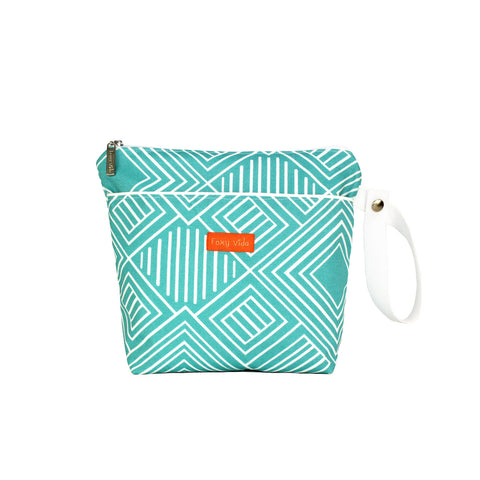 On the Pulse Wet Bag  - Aqua