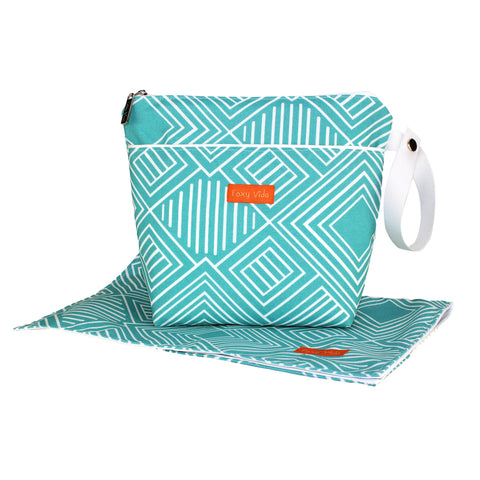 On the Pulse Wet Bag SET - Aqua
