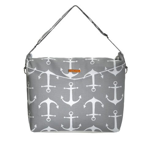 Privé Diaper Bag in Anchors