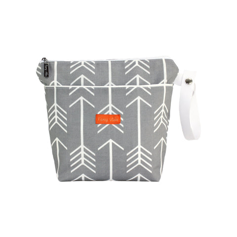 Arrow Wet Bag  - Gray
