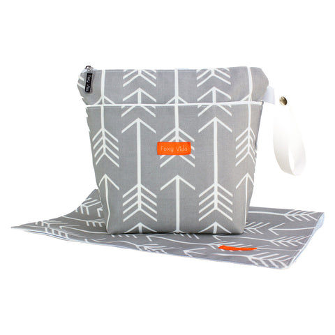 Arrow Wet Bag SET - Gray