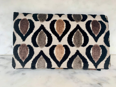 Limited Edition  Velvet Clutch Wallet - Auburn Romance