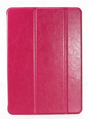 Luxury  Leather Case with magnet cover for iPad 5 Air - PINK