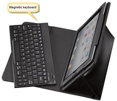 iPad Air (5) Leather folio case with detachable Keyboard