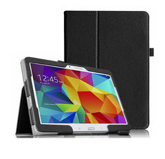 4 in 1 Folio Leather case for Samsung Tab 10.5 inches (+Stylus+Screen Guard+Data transfer cable)