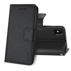 3-In-1 Wallet Case In Black / iPhone X