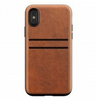Nomad Wallet case iPhone X Brown