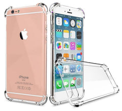 iPhone 7/8 Clear Bumper Case With Air Cushion Protection Clear