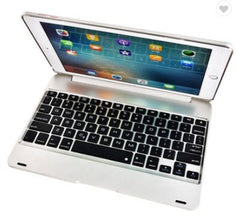 iPad 9.7 foldable case with integrated bluetooth keyboard