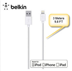Belkin 3M Lightning connector sync data cable