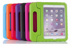 iPad rugged shock proof case with back stand for iPad 2/3/4, iPad 5th/6th, iPad Pro 9.7, iPad Pro 10.5 and 12.9