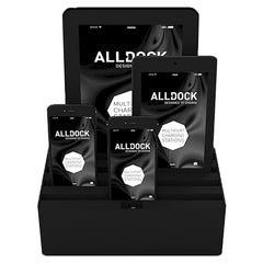 ALLDOCK - ORIGINAL - Medium 4 USB Hub - Black