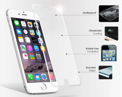Ultra Thin 0.3 mm soft edges Tempered Glass Screen Protector for iPhone 5/5S