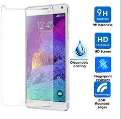Ultra Thin 0.3 mm soft edges Tempered Glass Screen Protector for Samsung S4
