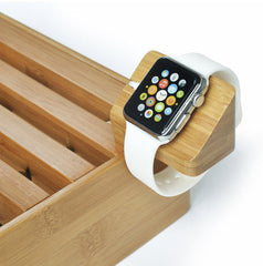 ALLDOCK Apple Watch Holder - Natural Wood