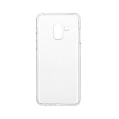 Samsung A8 Protection kit - Clear case