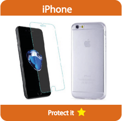 Protection kit - Clear case