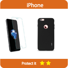 Protection kit - Solid Armor Hybrid Case