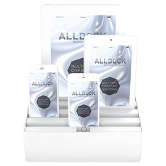 ALLDOCK - ORIGINAL - Medium 4 USB Hub - White