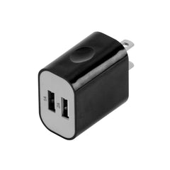 Universal Wall Charger Dual USB 2.1A Black