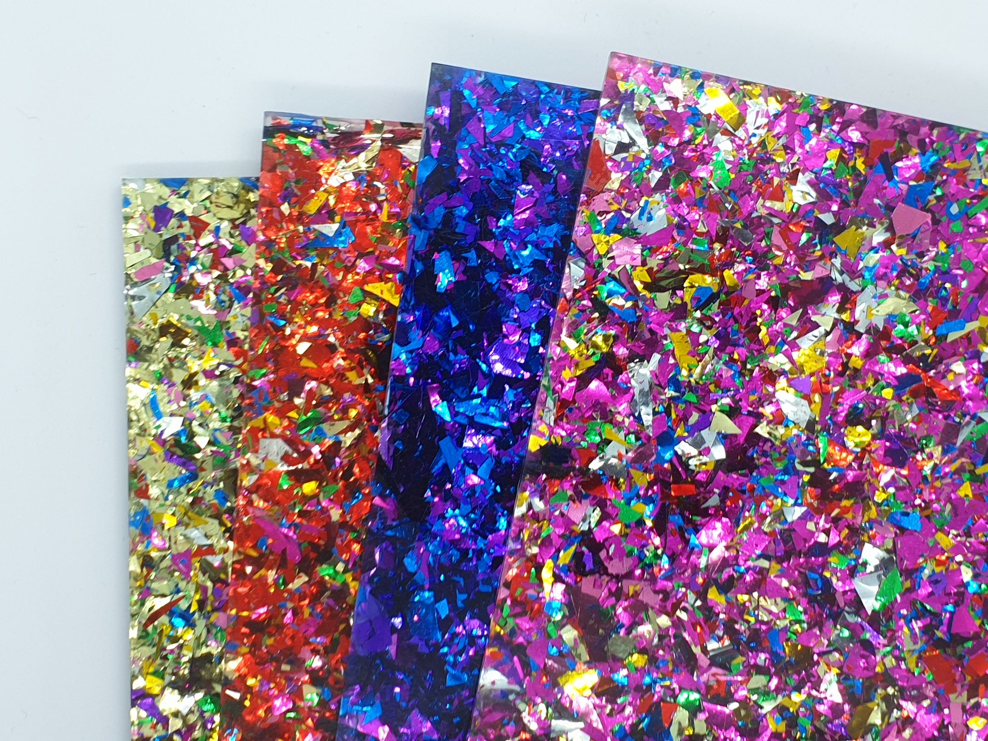 NEW Acrylics in Store now - Frost, Party Glitter, Bubble glitter and more!