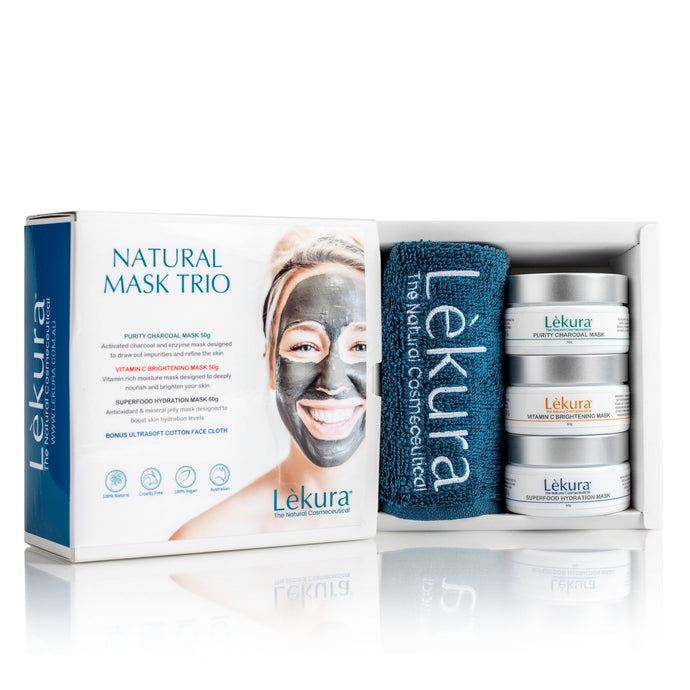Natural Mask Trio * Limited Edition