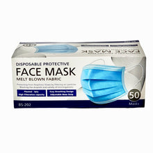Load image into Gallery viewer, 3ply Face Mask Pack of 50