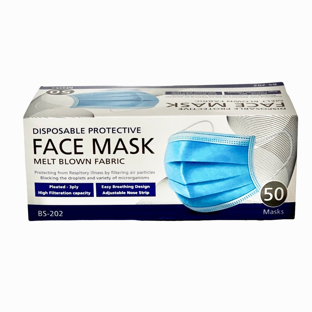 3ply Face Mask Pack of 50