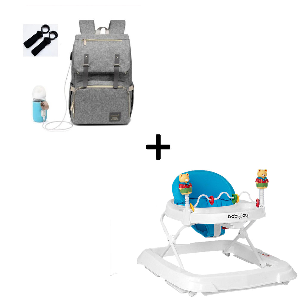 The Smart Diaper Bag + The Baby Walker
