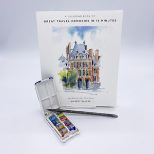 Gilbert Maurer's Watercolor Kit