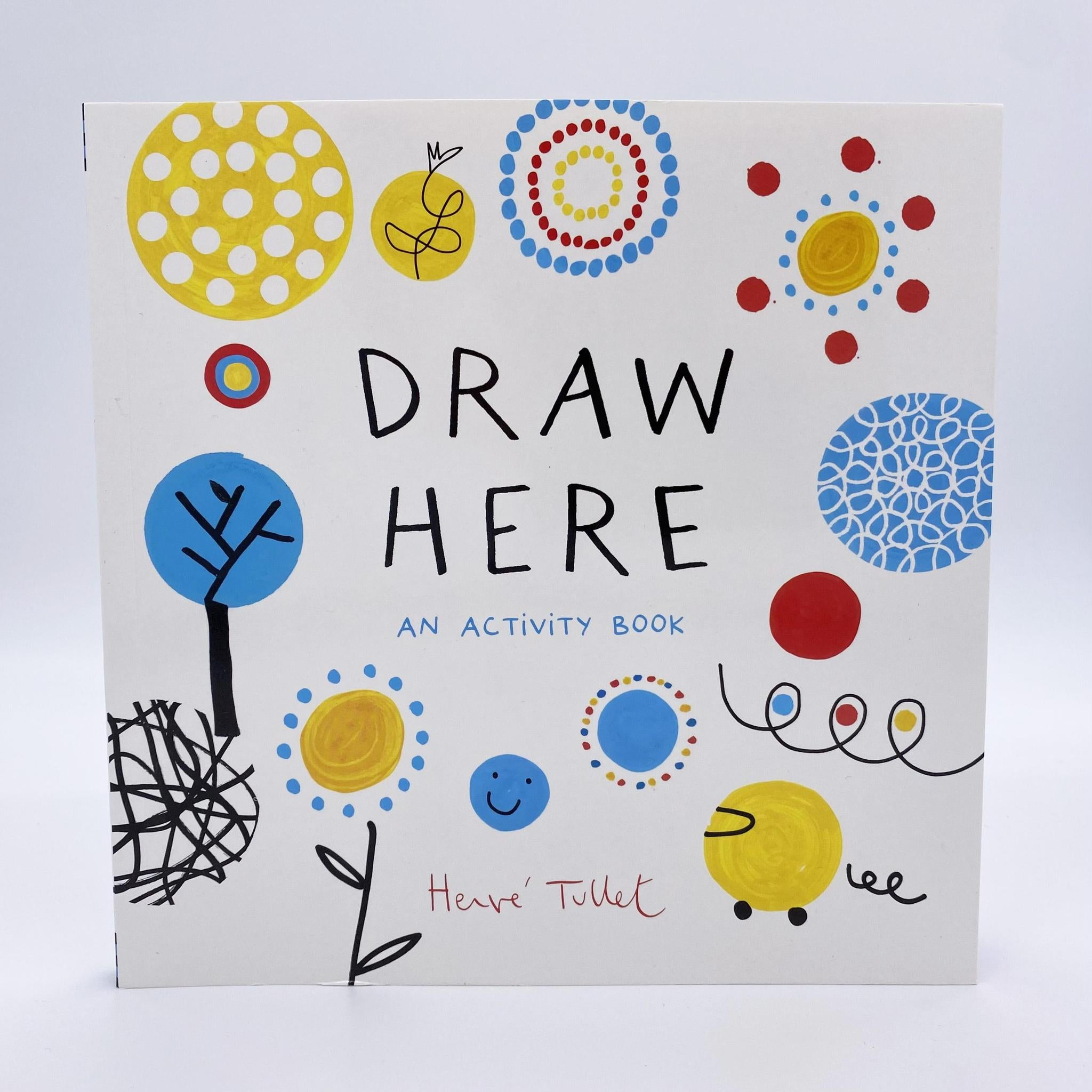 Draw Here: Activity Book