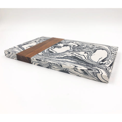 Cutting Board - Black and White Marble