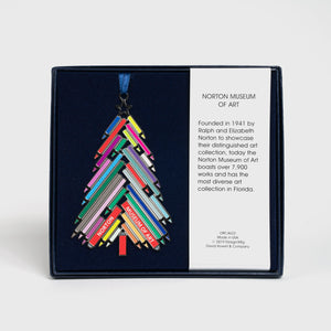 Colored Pencil Tree Ornament