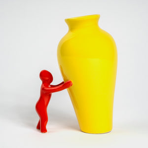 'Little Man' Bud Vase