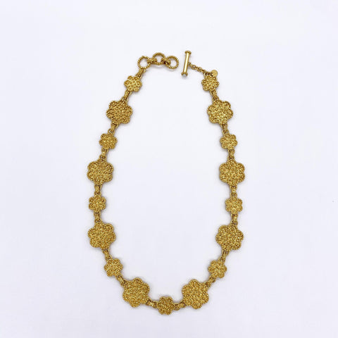 Colette Statement Necklace - gold