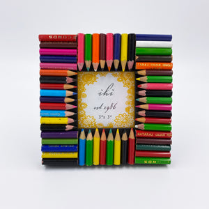 Colored Pencil Photo Frame (small)