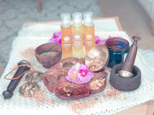 Ayurvedic Immersion Body Ritual with Facial & Shirodhara, 130-Minutes