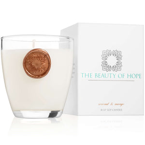 Beauty of Hope Coconut & Mango Votive Candle
