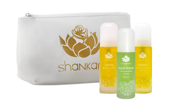 Shankara's Signature Series Oils Holiday Gift Set