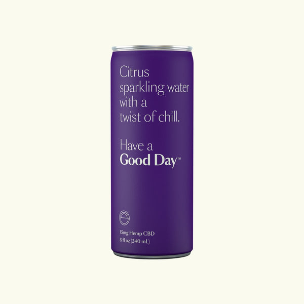 Have a Good Day CBD Sparkling Water