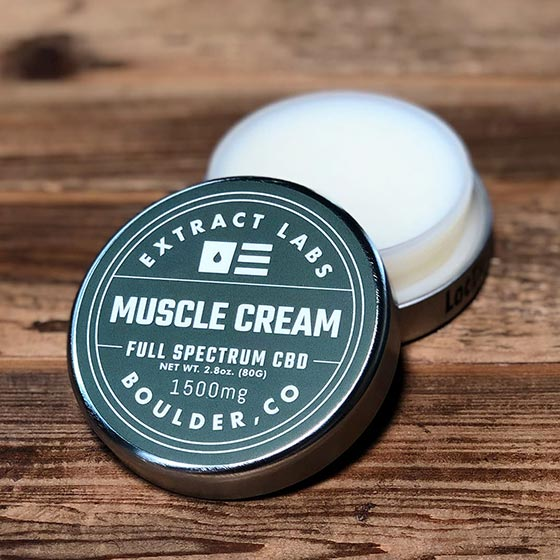 Extract Labs 1,500mg Muscle Cream