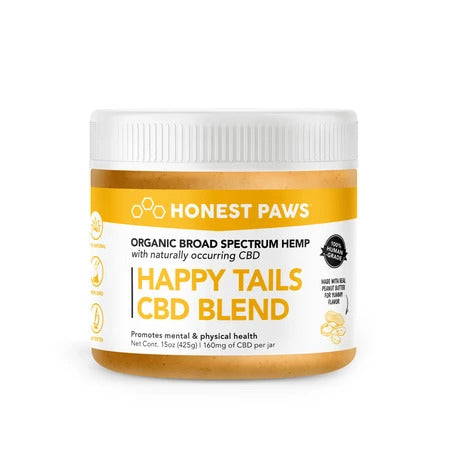 Honest Paws Peanut Butter CBD Infused Blend
