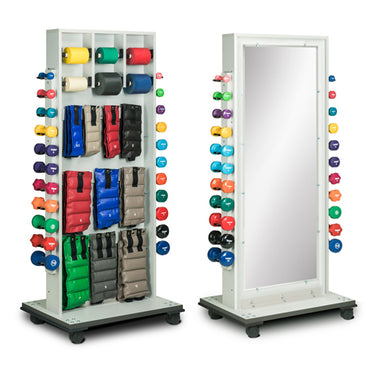 Vonco Combo Weight and Mirror Rack