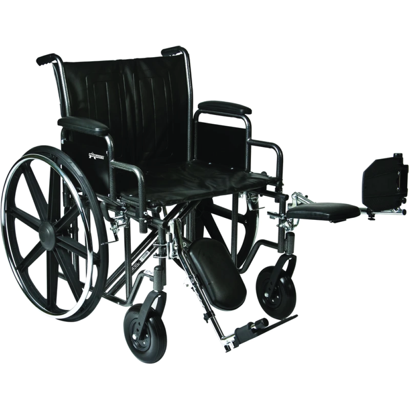 Vonco ProBasics K7 Heavy Duty Bariatric Wheelchair, 28